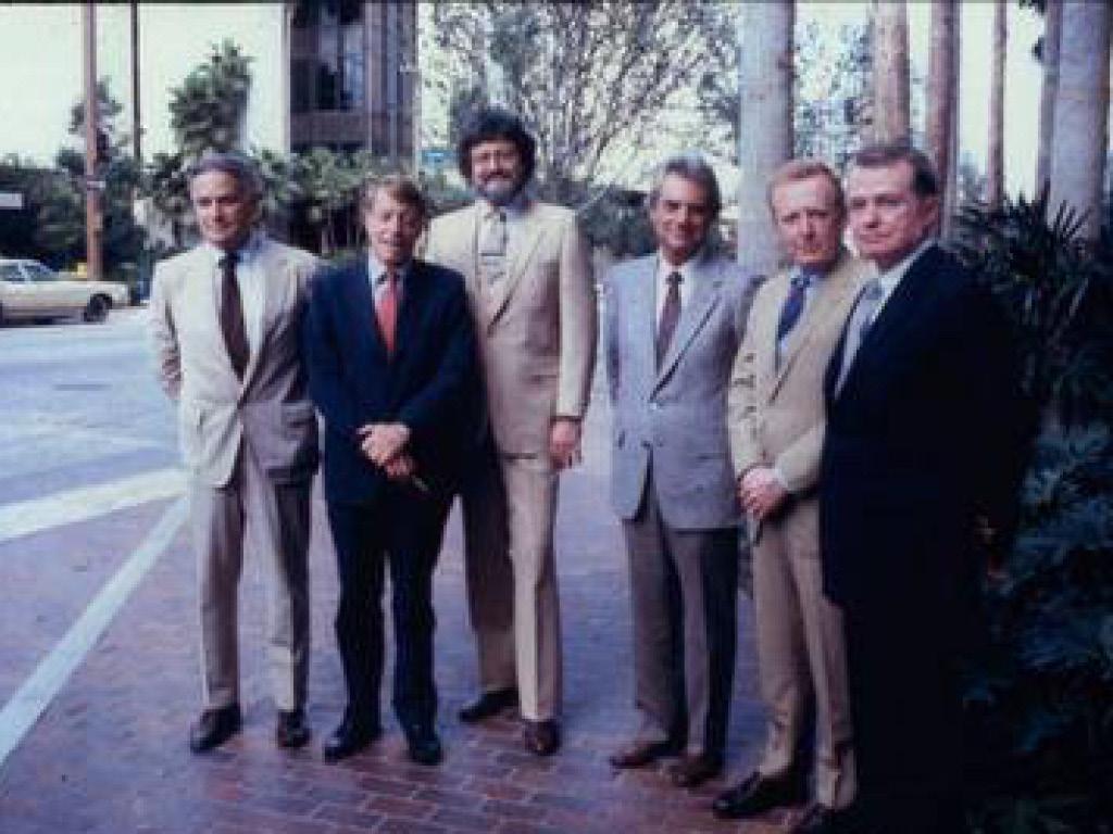 "Victor Lundy, Gene Leedy, William Rupp, Edward ""Tim"" Siebert, Burt Brosmith, and Paul Rudolph"