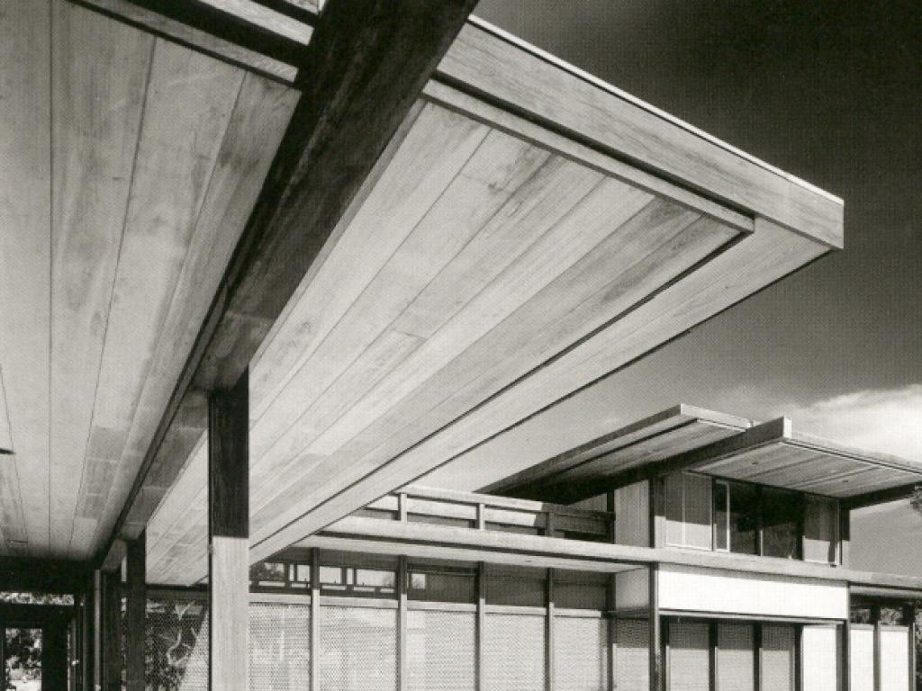 Burkhardt Residence, Architect: Paul Rudolph