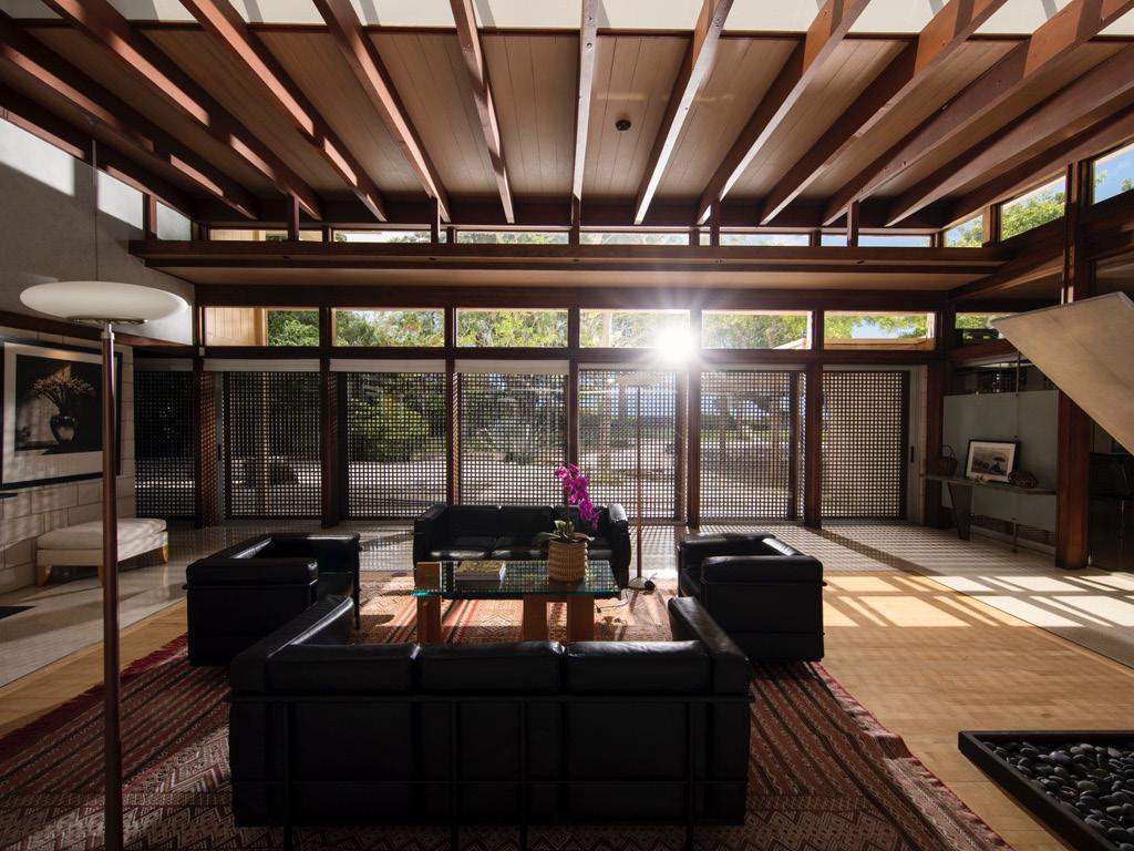 Burkhardt Residence, Architect: Paul Rudolph, Photo: Bryan Soderlind