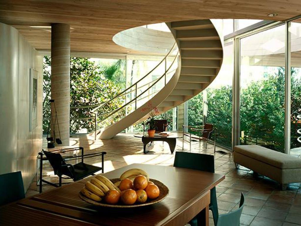 Casa De Cielo Interior, Architect: Carl Abbott