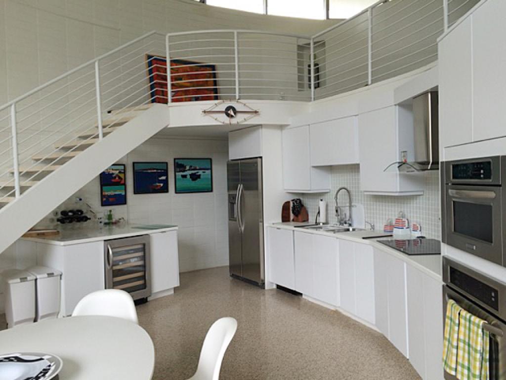 """Leech Studio, """"The Round House"""", Architect: Jack West, Photo: Denise Crossley"""