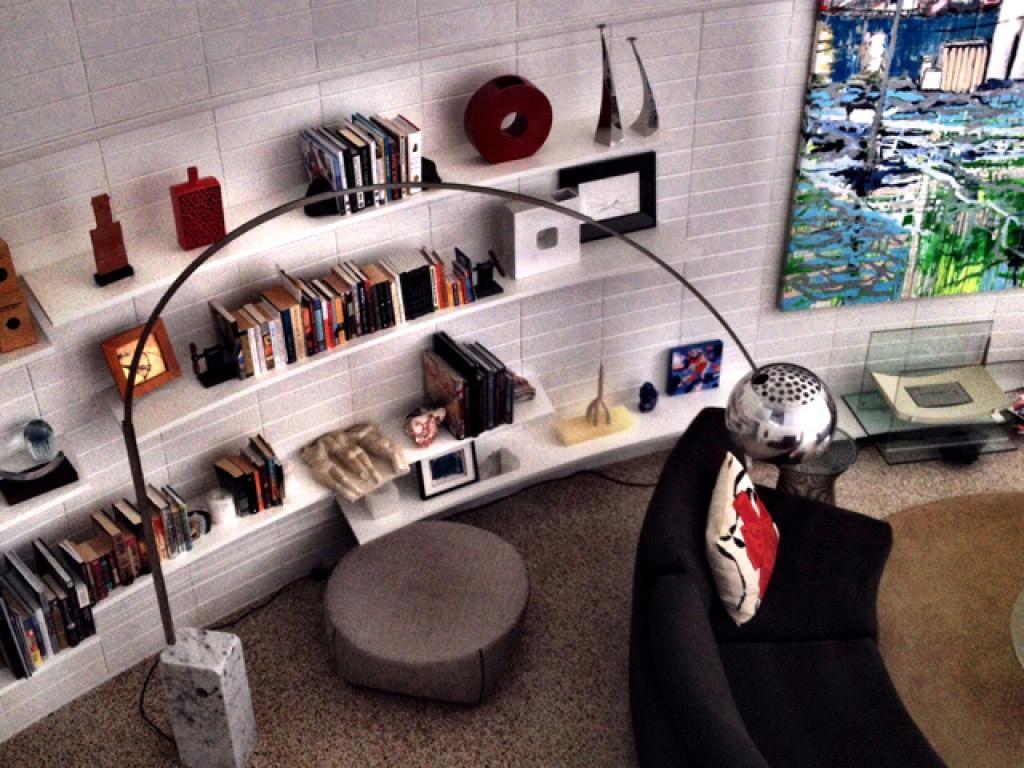 "Leech Studio, ""The Round House"", Architect: Jack West, Photo: Janet Minker"