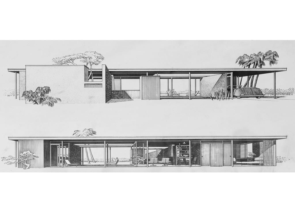Revere Quality House, Architect: Paul Rudolph