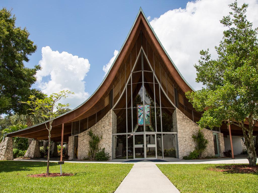 St Paul Lutheran Church Fellowship Hall, Architect: Victor Lundy