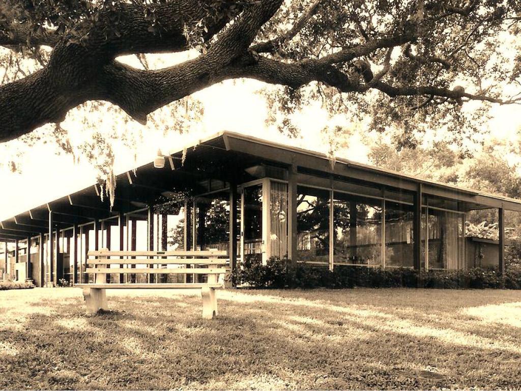 South Gate Community Center, Photo: Preservation of Victor Lundy's South Gate Community House, Inc.