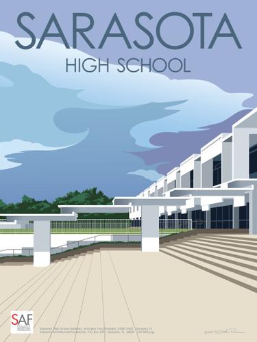 SAF SarasotaMODWeekend2016 poster by John Pirman