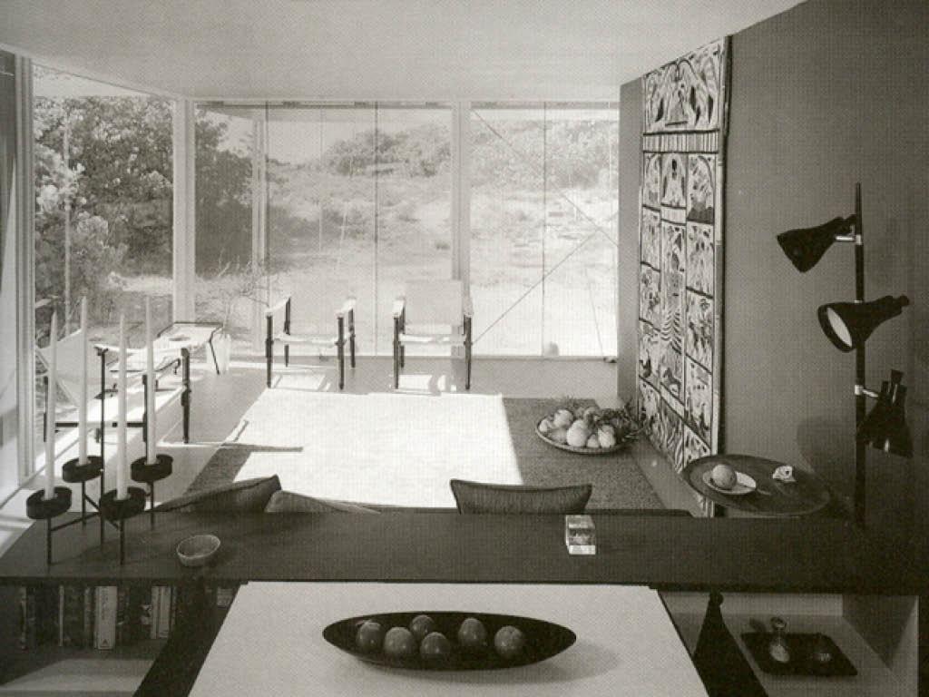 Walker Guest House, Architect: Paul Rudolph
