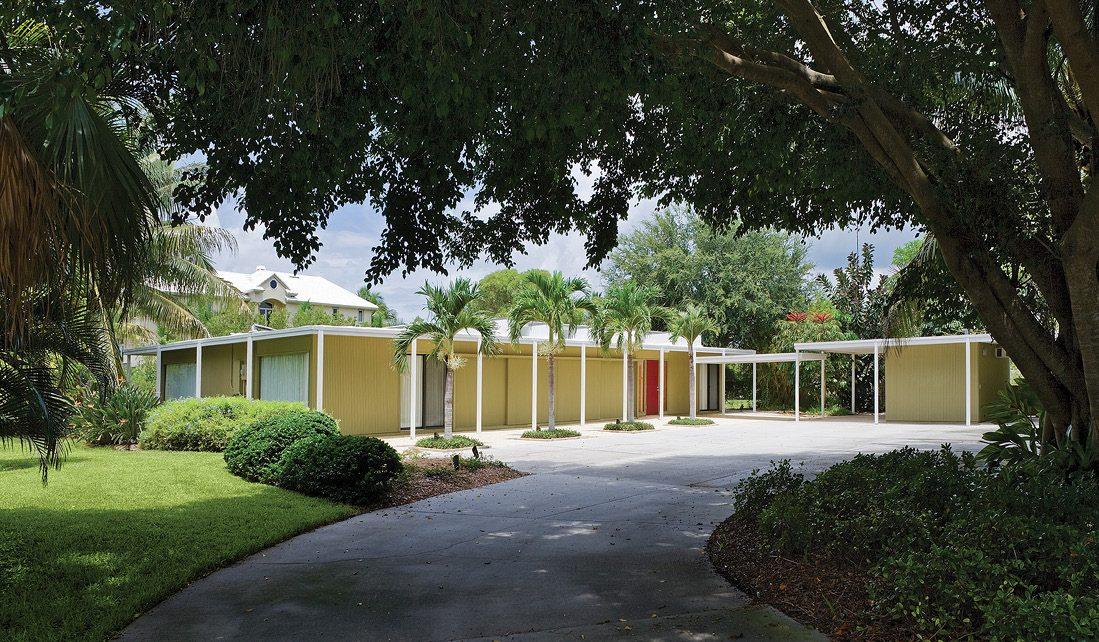 Cohen Residence, Architect: Paul Rudolph