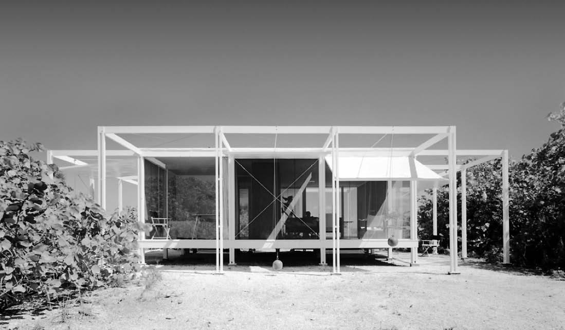 Walker Guest House, Architect: Paul Rudolph, Photo: Ezra Stoller